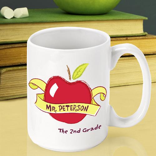 personalized teacher coffee tea mug free shipping