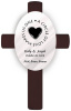 Personalized Second Marriage Wedding Anniversary Cross