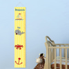 Personalized Nautical Ship Height Growth Chart