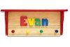PERSONALIZED KIDS NAME COAT RACKS - Made in USA - Free Shipping