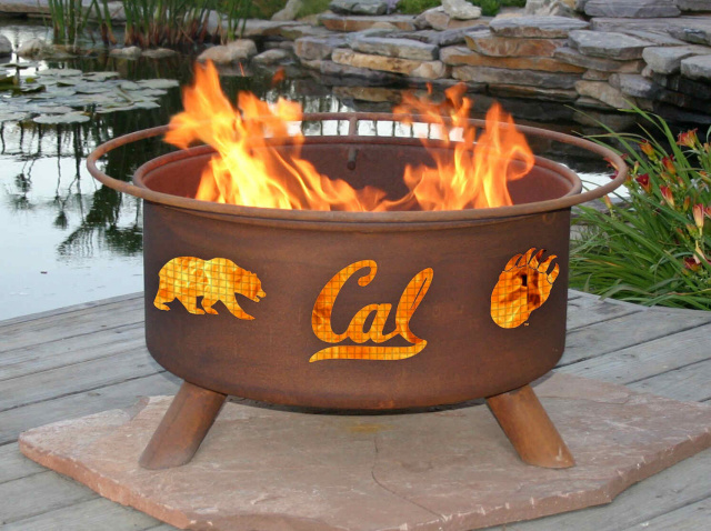 Cal Berkeley Bears Fire Pit Grill