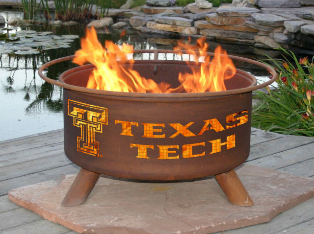 Texas Tech Red Raiders Fire Pit Grill