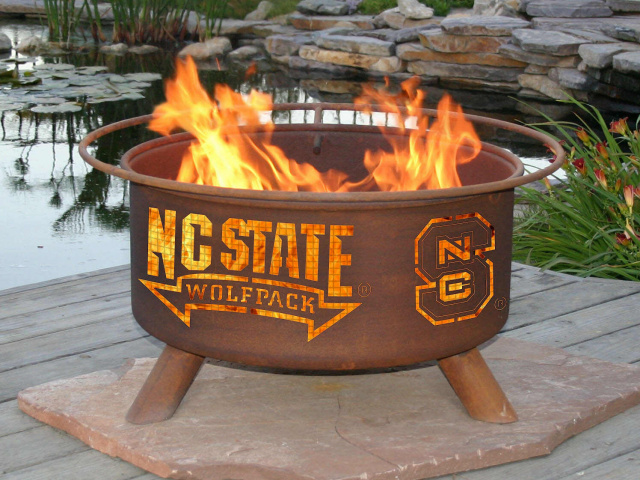 North Carolina State Wolfpack Fire Pit Grill