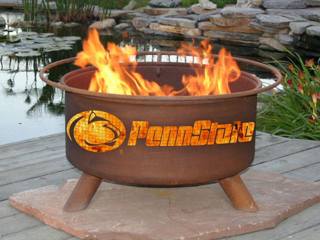 Penn State Nittany Lions Fire Pit Grill