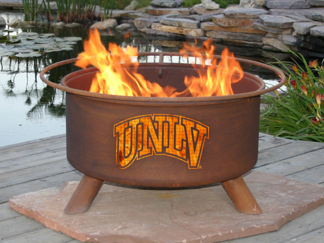 UNLV Rebels Fire Pit Grill