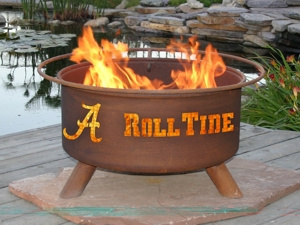 Alabama Crimson Tide Fire Pit Grill