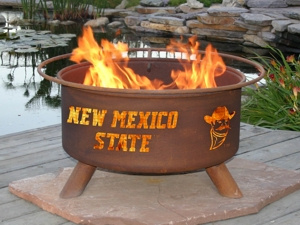 NMSU Aggies Fire Pit Grill