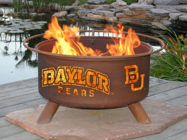 Baylor Bears Fire Pit Grill