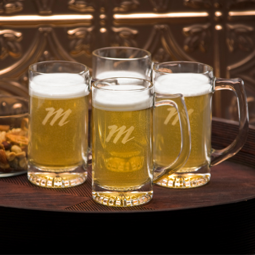Personalized Tavern Mug Set of 4