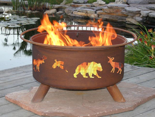 Wildlife Outdoor Fire Pit Grill