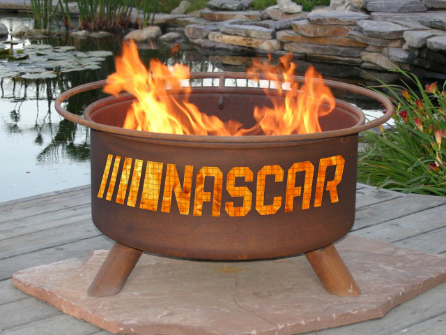 NASCAR Fire Pit Grill