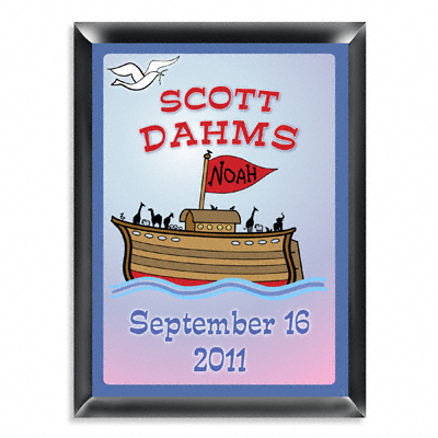 Personalized Noahs Ark Room Door Sign