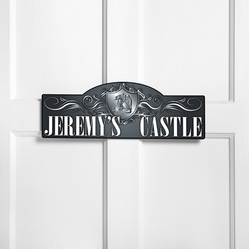 Personalized Royal Castle Room Door Sign
