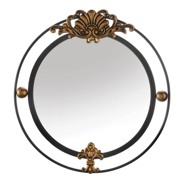 Golden Accent Regal Wall Mirror