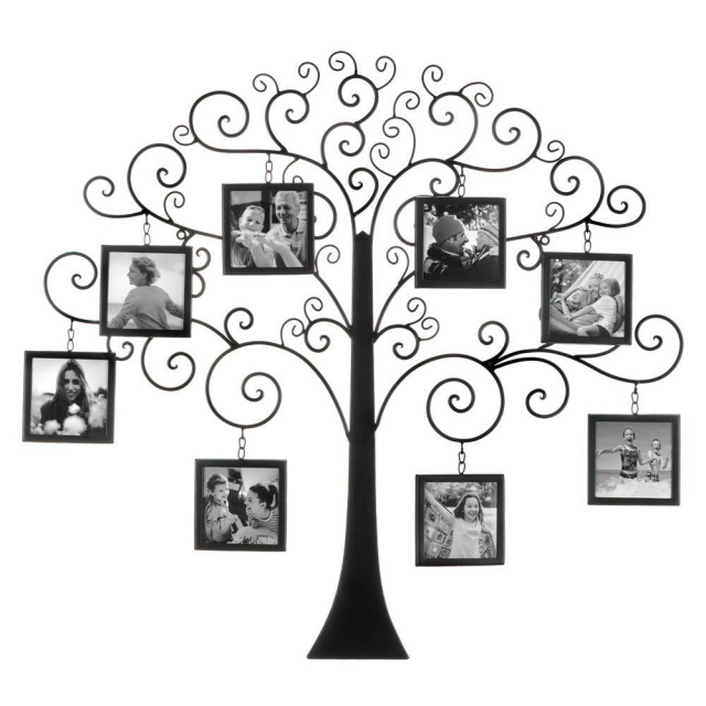 Large Family Tree Photo Wall Decor