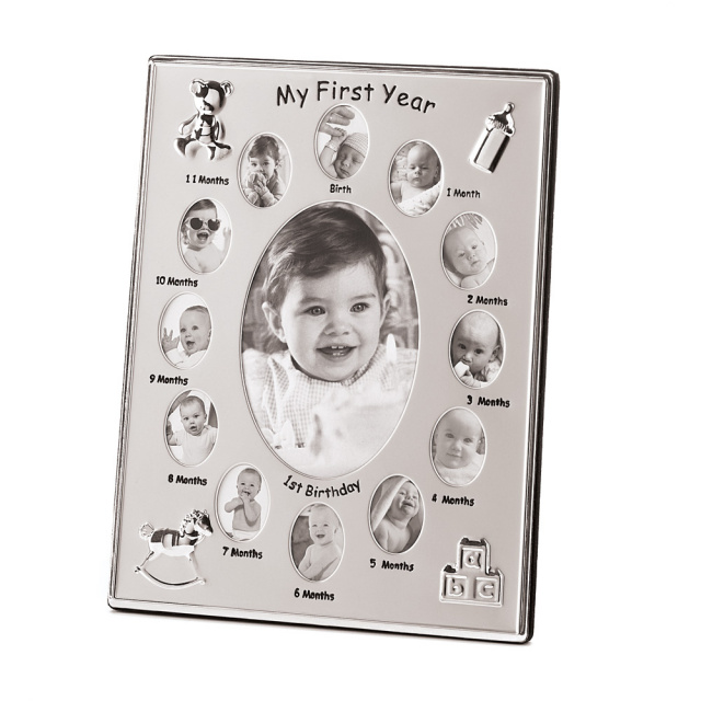 Baby First Year 13 Pictures Photo Frame