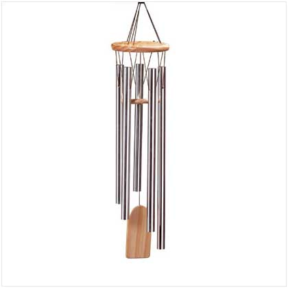 Natures Music Resonant Wind Chimes