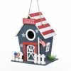 Songbird Valley Small Patriotic Birdhouse