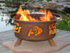 University of Colorado Buffs Fire Pit Grill