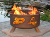 Purdue University Boilermakers Fire Pit Grill
