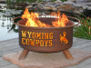 University of Wyoming Cowboys Fire Pit Grill