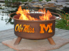 Ole Miss Rebels Fire Pit Grill