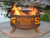 Michigan State Spartans Fire Pit Grill