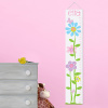 Personalized Butterflies Flowers Height Growth Chart