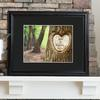 Personalized Tree of Love Print Wood Frame